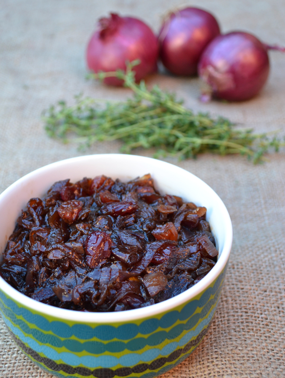 Caramelised red onion jam
