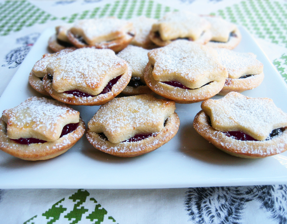 Cranberry Christmas mince tarts