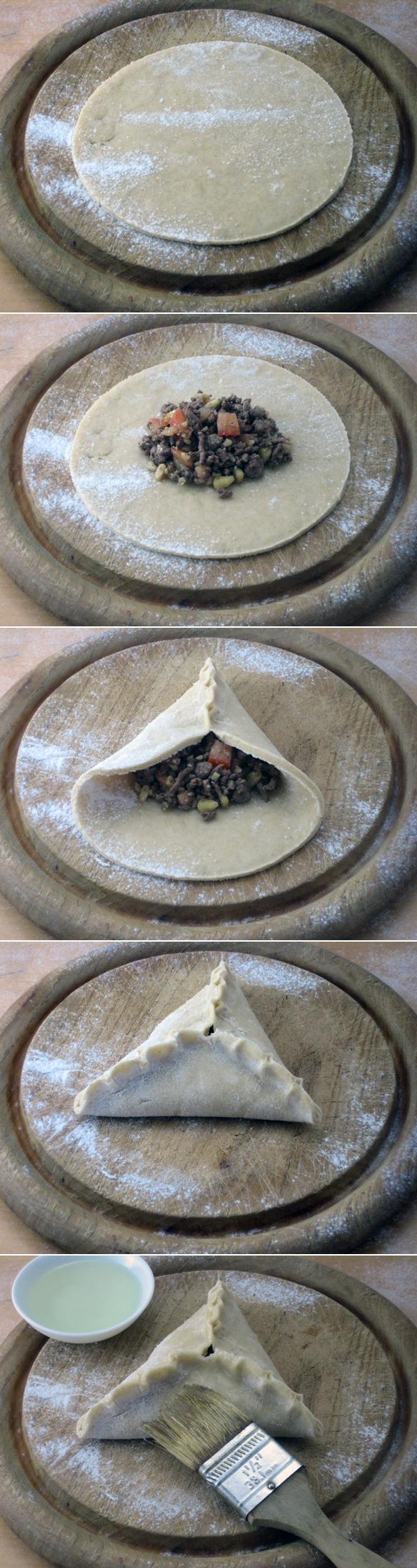 Folding sambousek