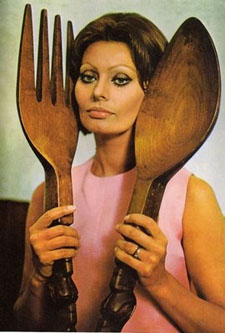 Sophia Loren Cookbook cover