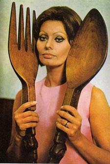 Sophia Loren Cookbook cover