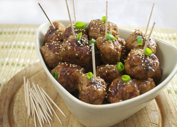 Recipe 1] Tsukune (Japanese teriyaki chicken meatballs)