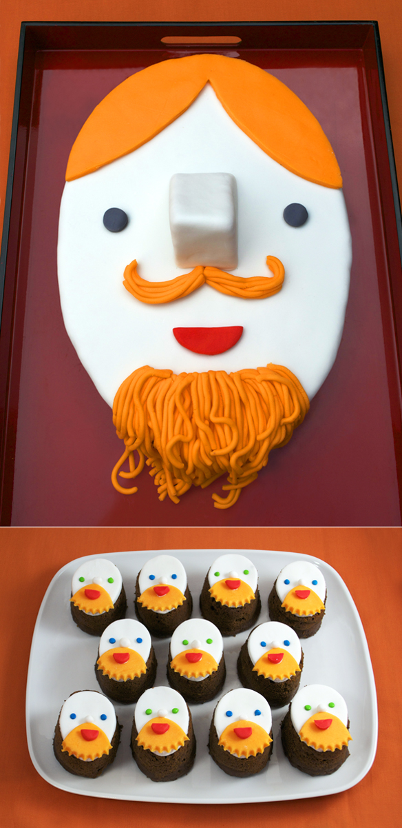 Pictures Of Moustache Cakes