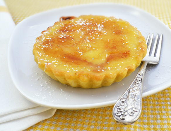 lemon curd tart with gelatin | one equals two