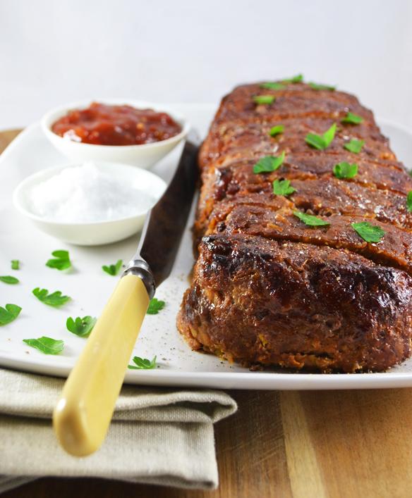 Beef and pumpkin meatloaf