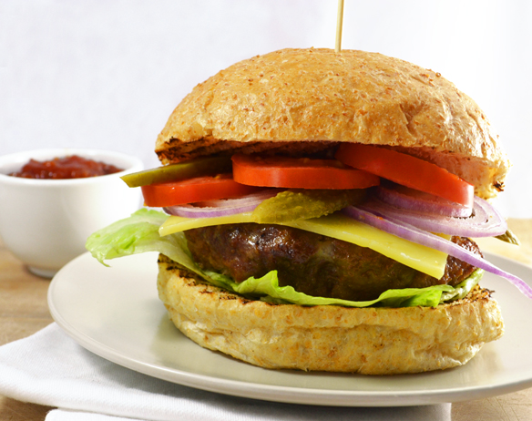 The ultimate burger. With hidden veggies.