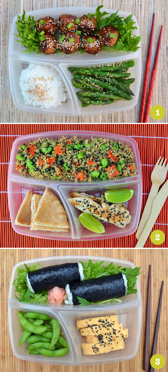 Bento box ideas 1–3