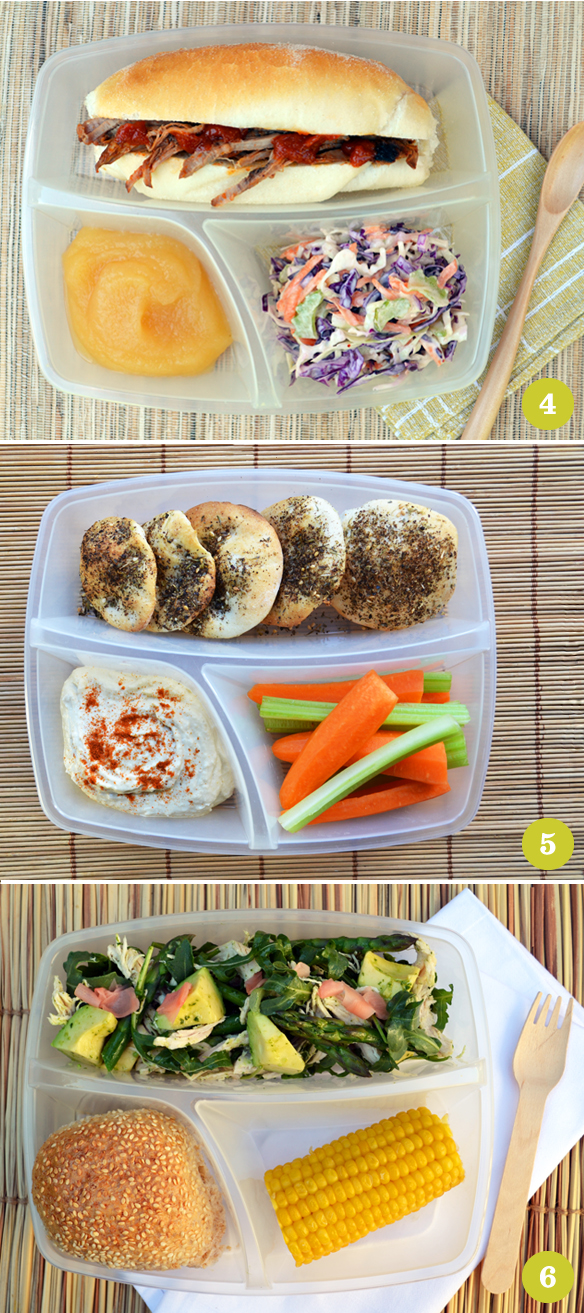 Bento box ideas 4–6