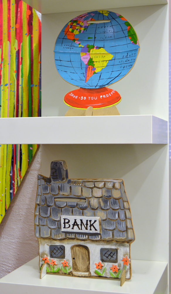 Sandra Eterovic money boxes