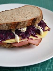 Reuban sandwich