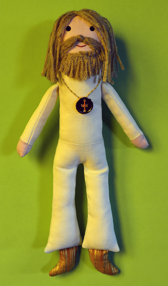 Barry Gibb doll. Saskia Ericson.