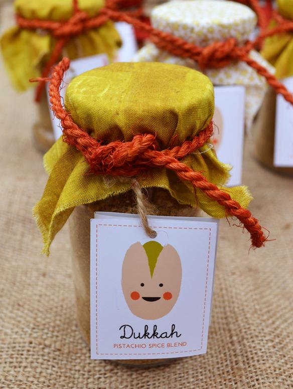 Pistachio dukkah. One Equals Two.