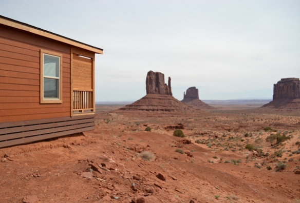 'The View' cabins at Monument Valley