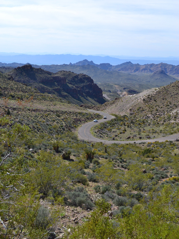 Route 66 to Oatman, Arizona