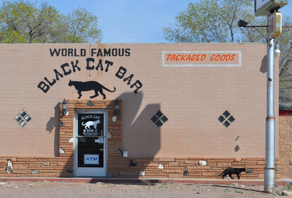 Black Cat Bar, Seligman, AZ