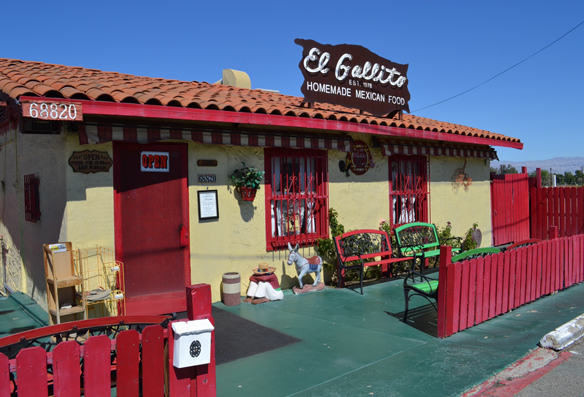 El Gallito, Cathedral City, CA