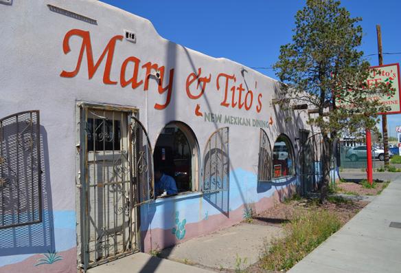 Mary & Tito's, Albuquerque, NM