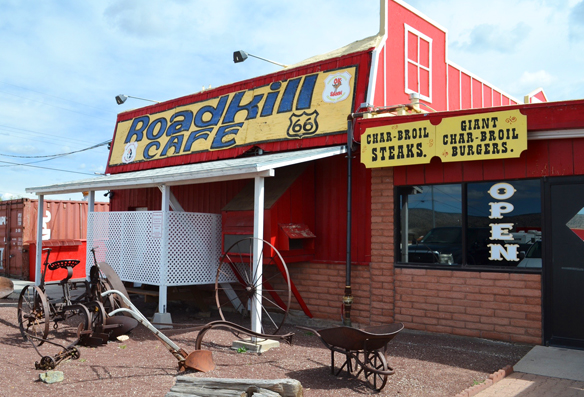 Roadkill Cafe, Seligman, AZ