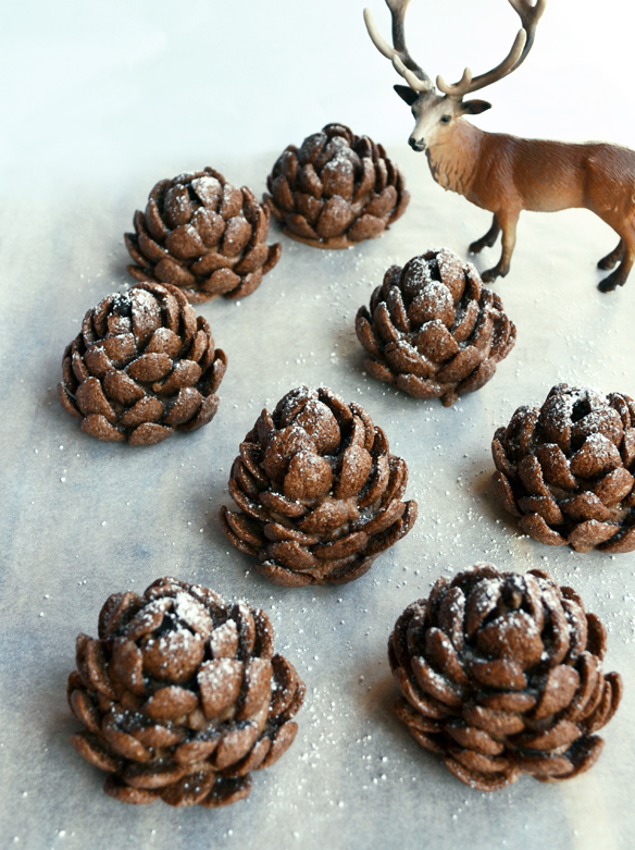 Edible pine cones