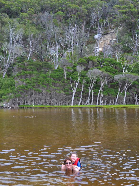 Tidal River swim
