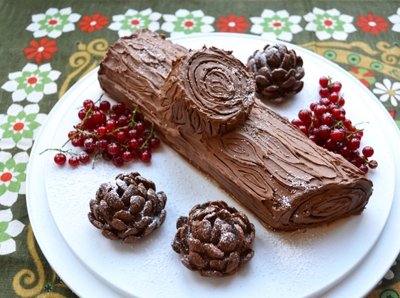 YULE LOG by One Equals Two